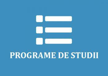 Programe de Studii