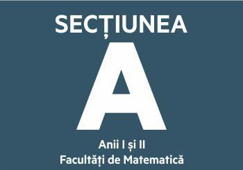 Secțiunea A