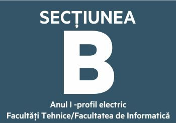 Secțiunea B