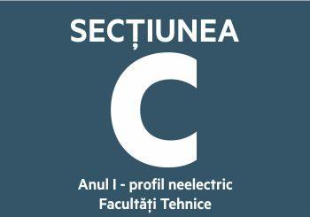 Secțiunea C