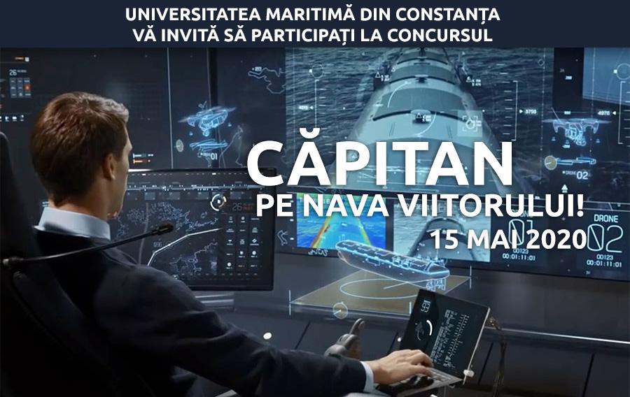 Căpitan pe nava viitorului!