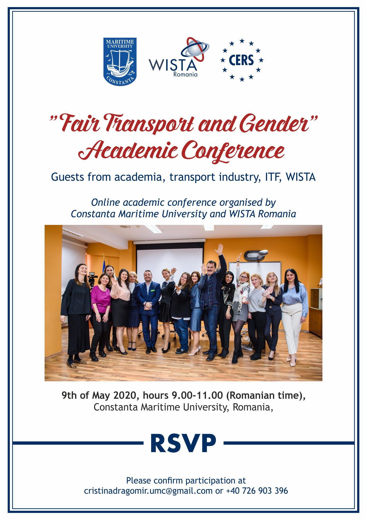 """Fair Transport and Gender"" Academic Conference"