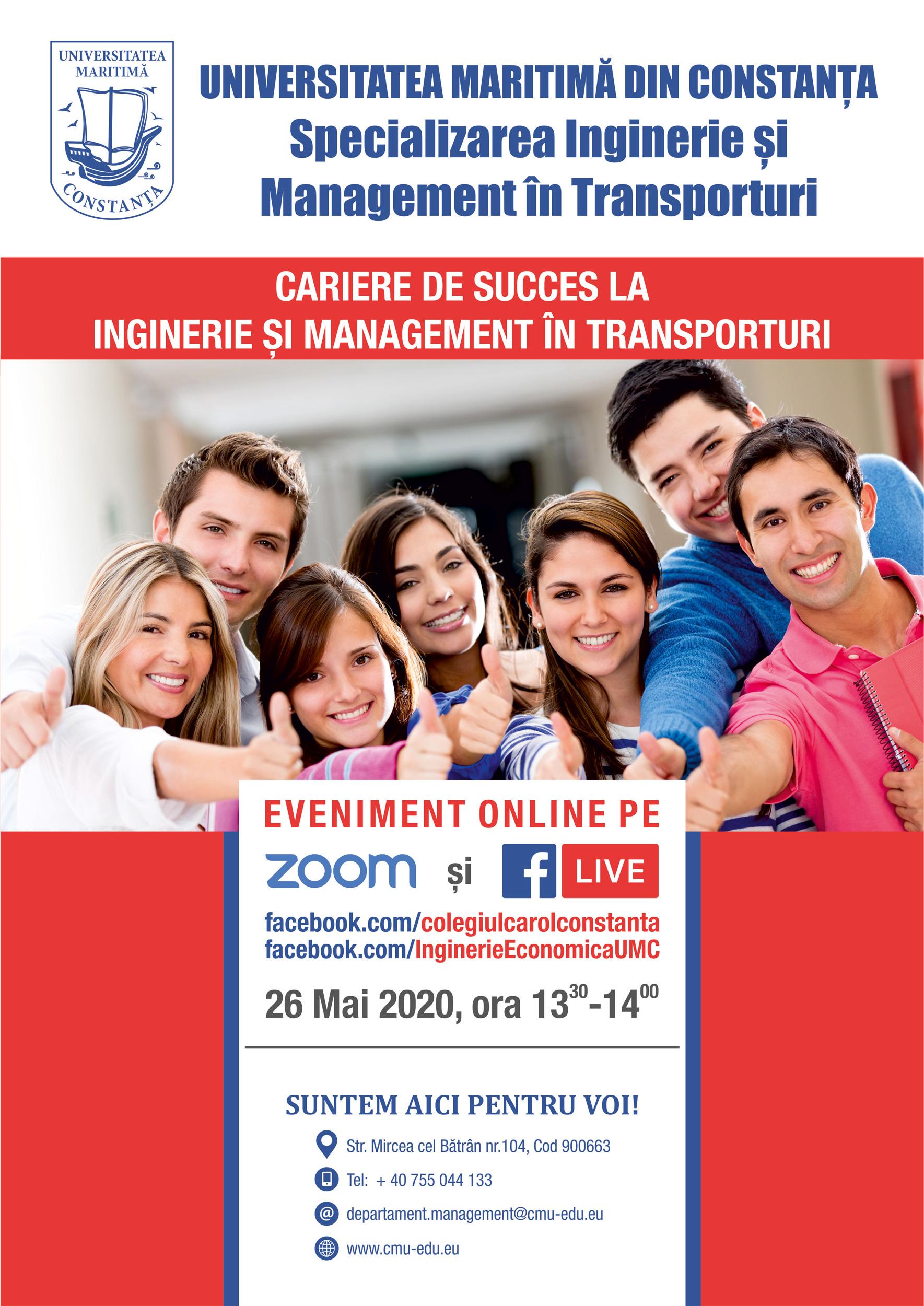 Cariere de Succes la Inginerie și Management în Transporturi