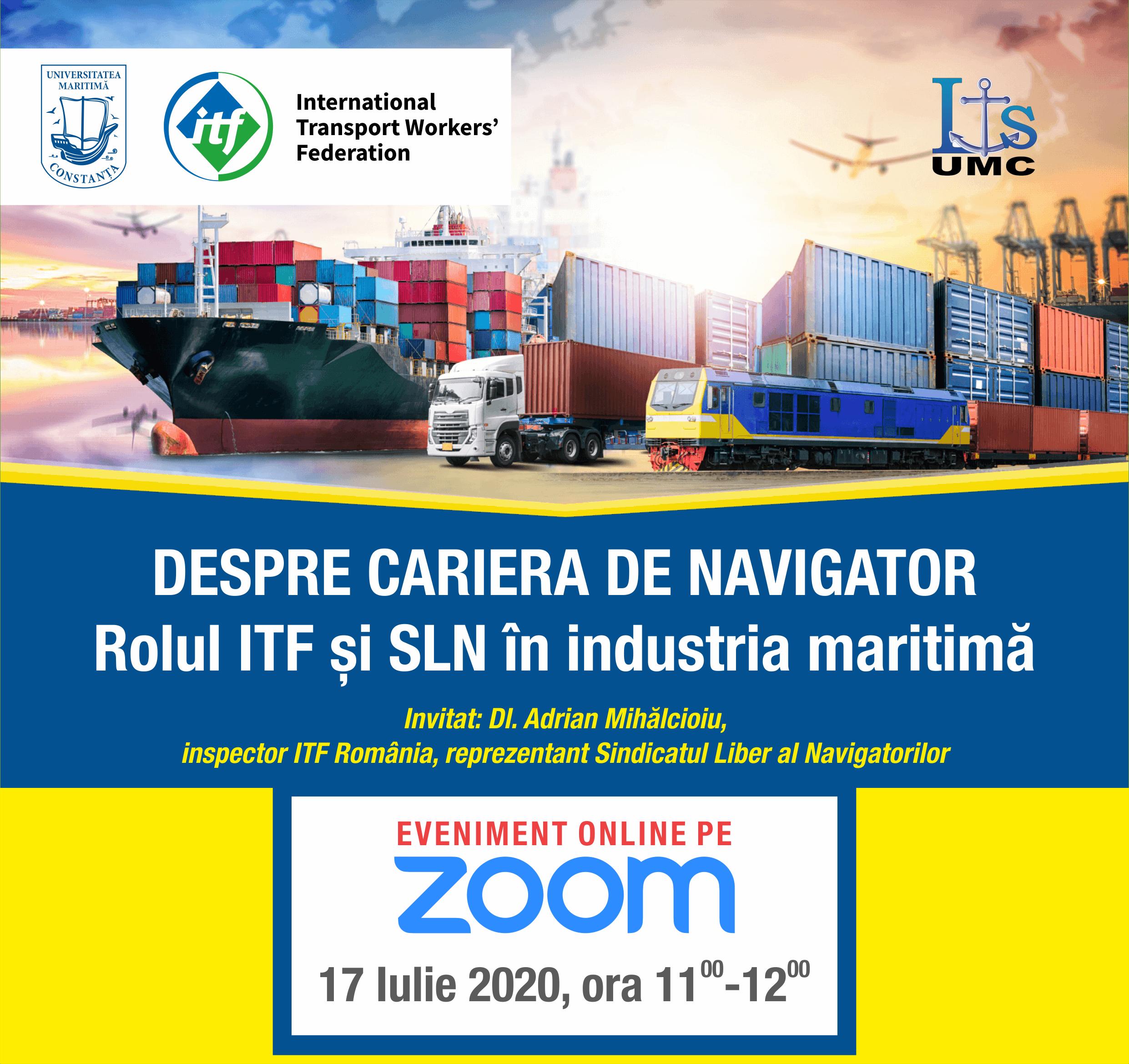 DESPRE CARIERA DE NAVIGATOR – Rolul ITF şi SLN în industria maritimă