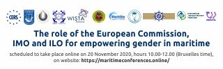 The role of the European Commission, IMO and ILO for Empowering Gender in Maritime