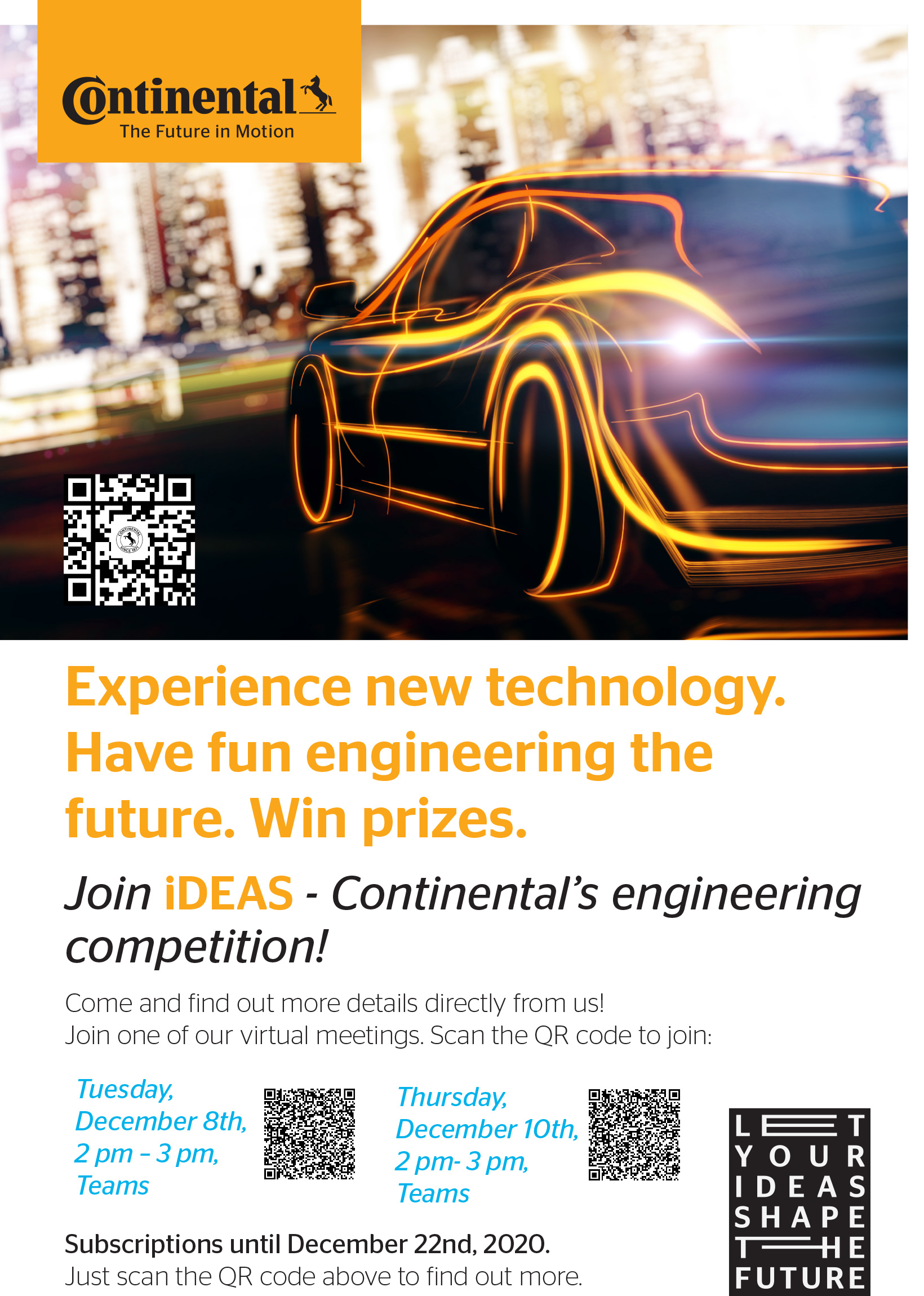 Continental's engineering competition!