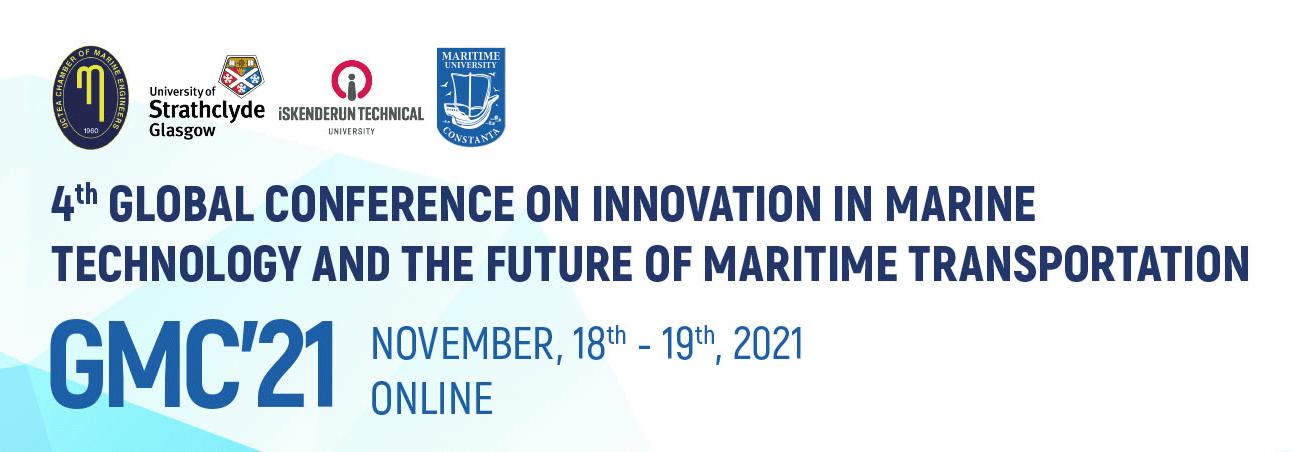 Conferinta globala Inovații Tehnologice în Domeniul Maritim ți Viitorul Transporturilor Maritime